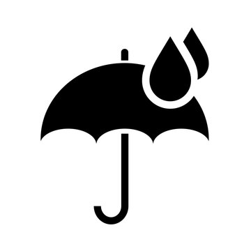 Rainy weather vector icon