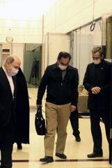Dr. Sirous Asgari arrives in Tehran
