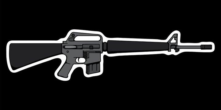 BrickArms Weapons RPD Machine Gun 2.5 Black - ToyWiz