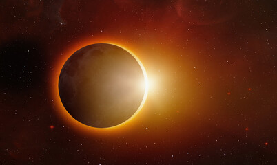 Wall Mural - Solar Eclipse