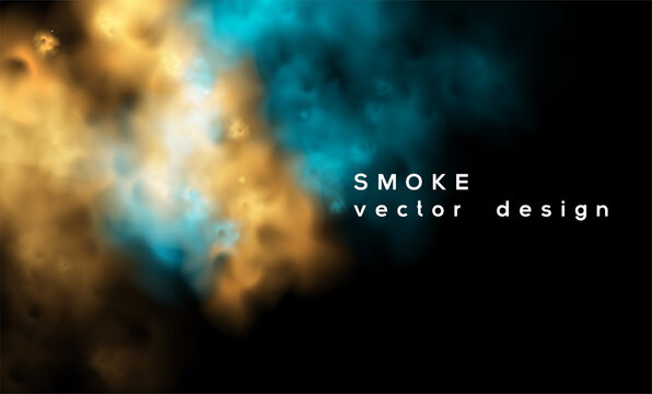Smoke vector background. Abstract design illustration eps 10
