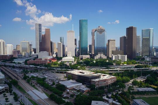 View of downtown Houston.
