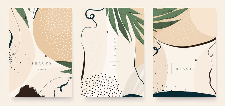 Abstract trendy background template . Good for cover, invitation, banner, placard, brochure, poster, card, flyer and other.