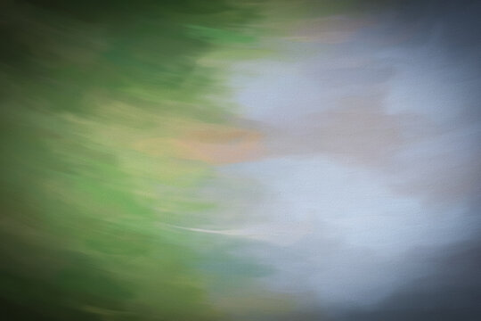 Abstract background grey and green shades. Like painted on canvas.