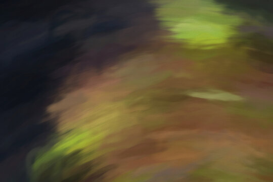 Abstract Earth Camo Shades. Digital painting on canvas.