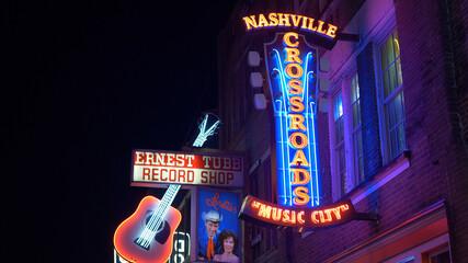 Nashville Crossroads at Broadway - NASHVILLE, USA - JUNE 17, 2019