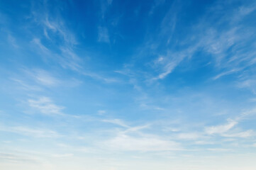 panorama white cloud with blue sky nature  background