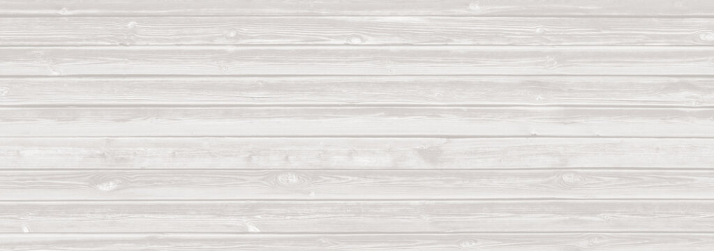 White washed wood boards texture background vintage style.