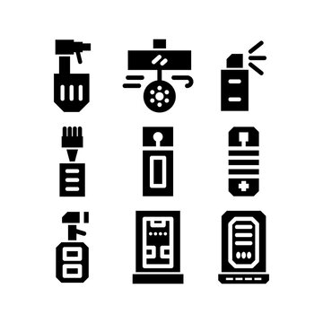 air freshener icon or logo isolated sign symbol vector illustration
