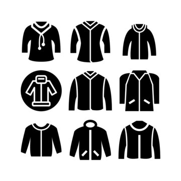 jacket icon or logo isolated sign symbol vector illustration - Collection of high quality black style vector icons