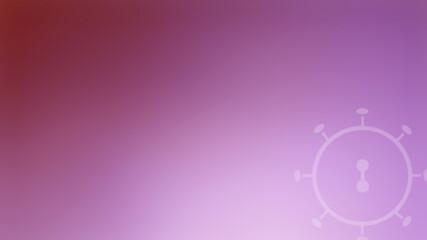 Background concept coronavirus COVID-19 red tone