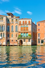 Wall Mural - Buildings by the water on The Grand Canal in Venice