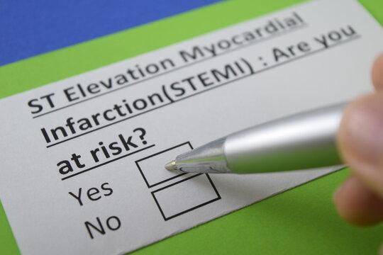 Questionnaire about health problem