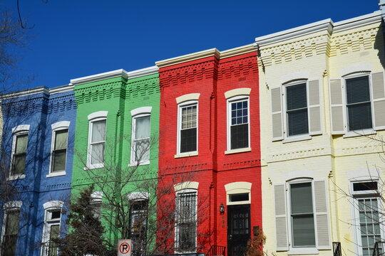 Quartier de Georgetown Washington DC États-Unis