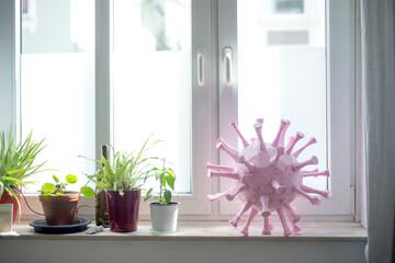 Stay home during quarantine and coronavirus lockdown