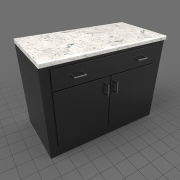 Modern lower kitchen cabinets with drawers