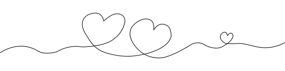 Hand drawn heart , Heart. Abstract love symbol. Hearts woman, men and baby. Vector illustration