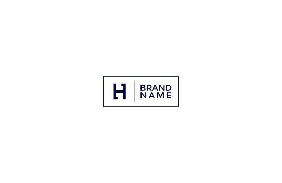 Minimal Modern Letter H Logo