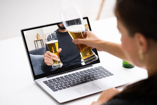 Online Virtual Beer Drinking Party