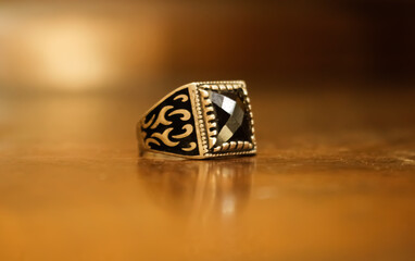 Beautiful picture of man ring.