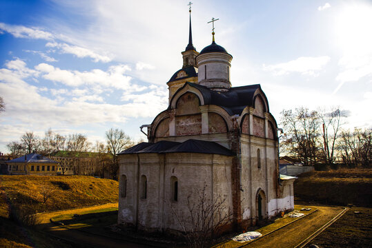 Parish of the Church of the ascension over the tomb of Isidore the Wonderworker (Ascension Church). Yaroslavl region, Russia