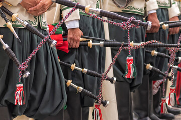 Bagpipes, Orchestra of the Algerian National Guard