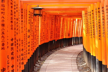 Foto op Plexiglas Kyoto Fushimi-Inari shrine in kyoto Japan