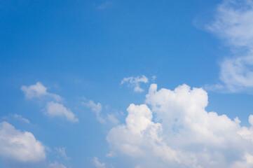하늘 풍경. Fotobehang