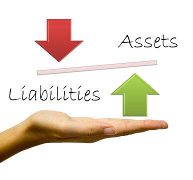 Assets and Liabilities cashflow concept
