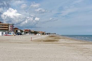 Italien - Marken - Torette - Strand Claudia