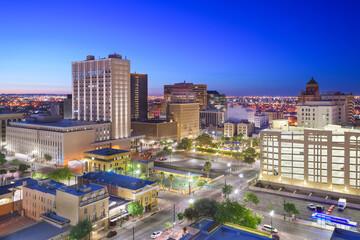 Fototapete - El Paso, Texas, USA