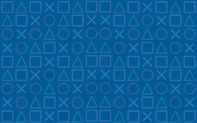 Modern Blue background. Game wallpaper concept.Seamless Pattern.