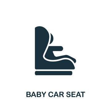 Baby Car Seat icon. Simple element from carsharing collection. Creative Baby Car Seat icon for web design, templates, infographics and more
