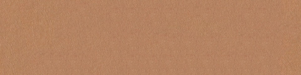 Abstract brown felt texture. Panoramic seamless texture, pattern