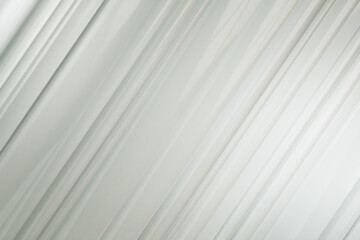 Fotobehang - Abstract digital white lines background.