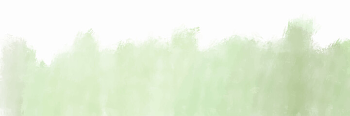 Green watercolor background for textures backgrounds and web banners design Fotomurales