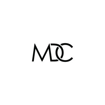 MDC font vector design