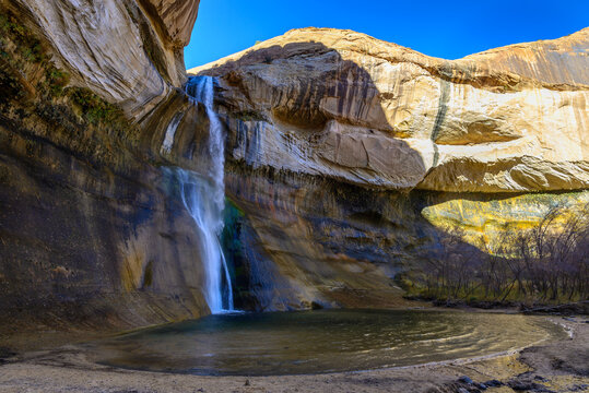 Lower Calf Creek Falls in Grand Staircase-Escalante National Monument