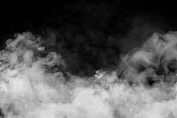 Aluminium Prints Smoke White smoke