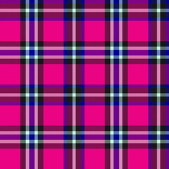 Purple Plaid Tartan Checkered Seamless Pattern - Purple Plaid, checkered, tartan seamless pattern suitable for fashion textiles and graphics