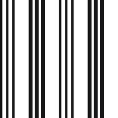 Black and White Stripe seamless pattern background in vertical style - Black and white vertical striped seamless pattern background suitable for fashion textiles, graphics