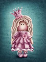 Cute princess doll