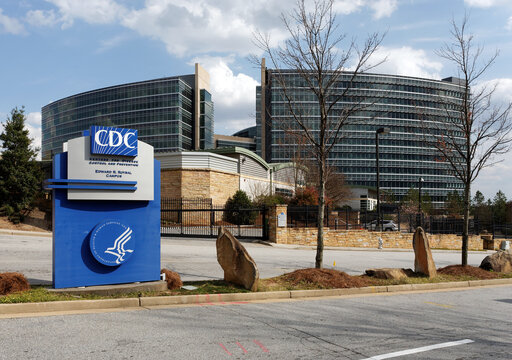 Atlanta GA, USA - March 30, 2013: The CDC Headquarters in Atlanta, Georgia. The Centers for Disease Control and Prevention is a leading national public health institute of the United States.