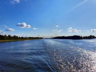 Fototapeta Kanał Kiloński -Niemcy