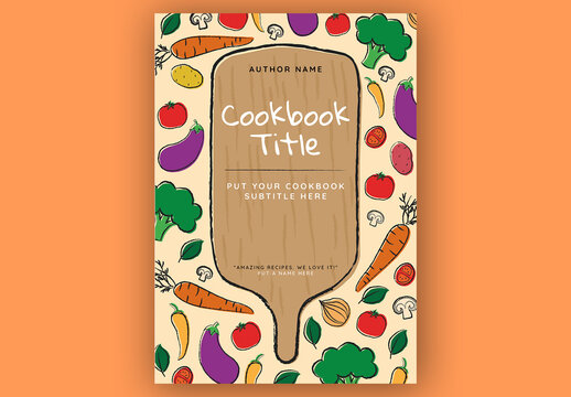 Cookbook Cover Layout