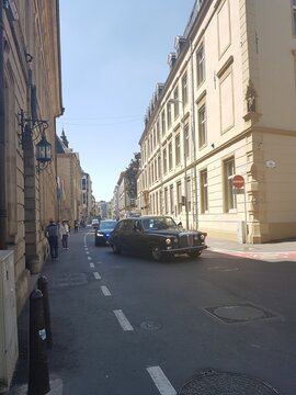 Una calle en Luxemburgo