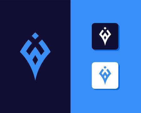 Letters G and J or GJ line logo design. Linear minimal stylish emblem. Luxury elegant vector element. Premium business logotype. Graphic alphabet symbol for corporate business identity