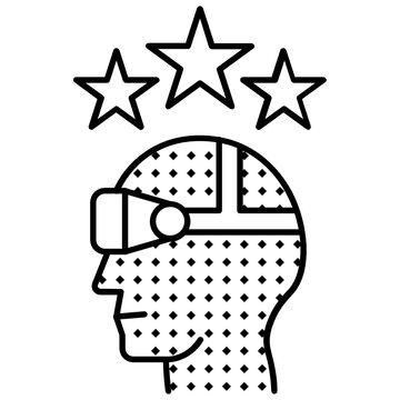 Business Intelligence Concept Vector New Idea Development Icon design