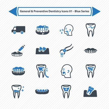 General & Preventive Dentistry Icons 03