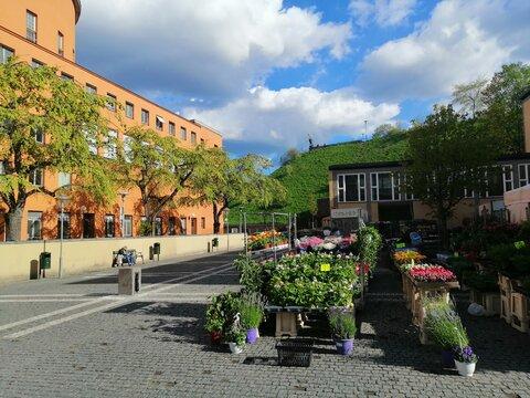 Stockholm's main library. Sweden.